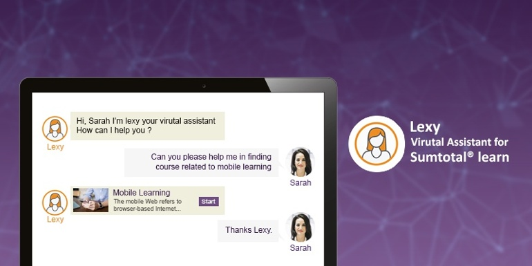 Meet Lexy - Your SumTotal Virtual Assistant