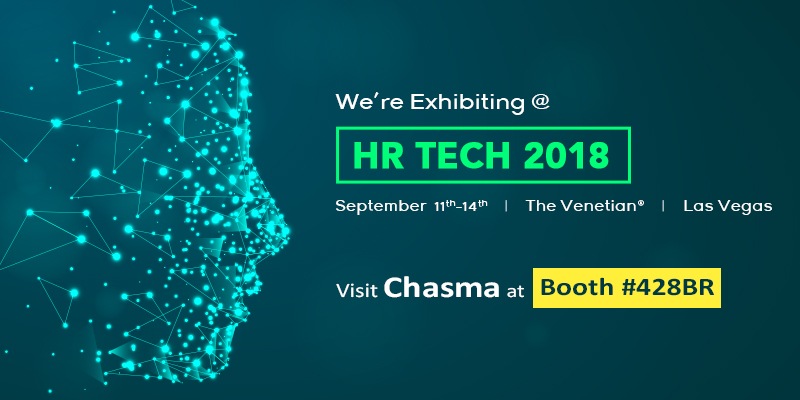 Chasma is Exhibiting at HR Tech Conference - 2018